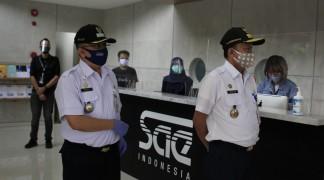 Pemda DKI Jakarta Memeriksa Protokol Pencegahan Penyebaran COVID-19 di SAE Indonesia