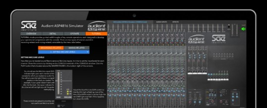 SAE Launches Audient Console Simulator For Distance Learning