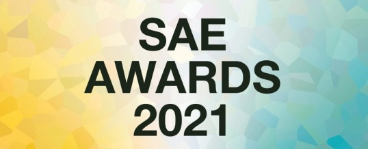 SAE Awards 2021 Competition Has Begun!